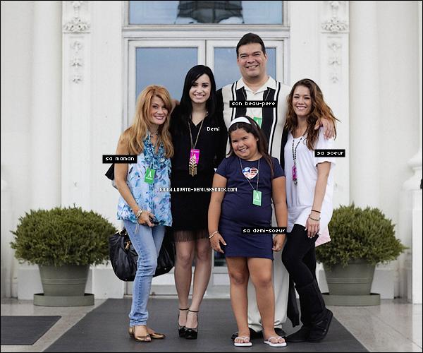 Demi et sa famille - Selena gomez et sa famille ...